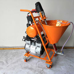 Factory outlets cement paint sprayer for cement plastering and waterproof coating