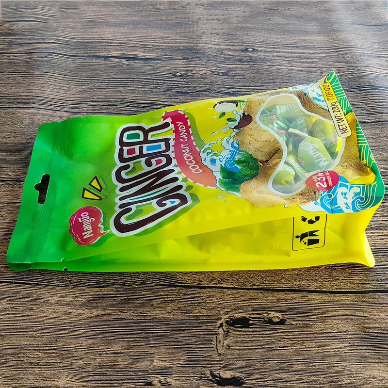 Import Korean healthy ginger candy sweet with coconut flavor