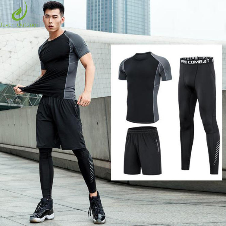 The latest style athletic apparel manufacturers new design fitness men athletic wear