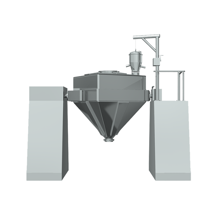 Pharmaceutical Powder Mixing Machine Square Cone Mixer