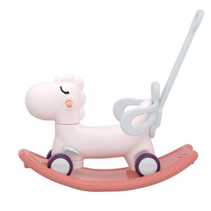 Multiple function rocking horse unique baby ride on animal toys for kids