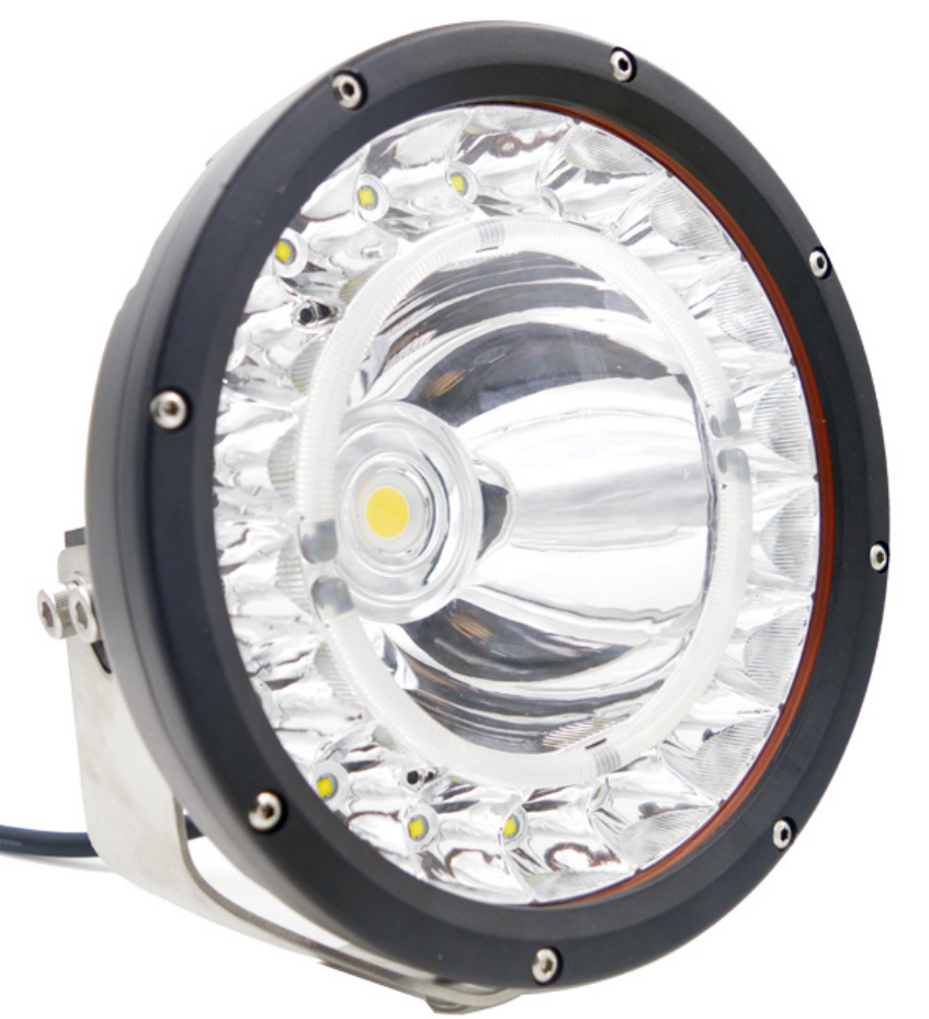 Auto Electrical System 9 inch 160W LED Car Light High out Offroad Adventure LED Auto Headlight