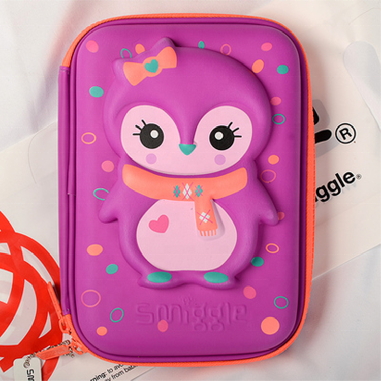 School Pencil Cases For Girls Boys Multifunctional Smiggle Pencil Box Pencil Bag Large 3D Pattern EVA Pen Case