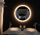 Hotel Style IP44 Round led strip lighted dressing room mirrors bathroom