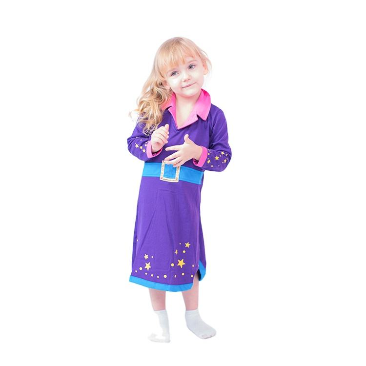Cheap children halloween costumes little girl role play outfit witch dress halloween