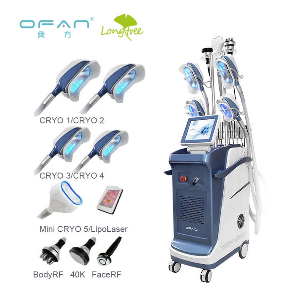 Ofan best selling cryolipo machine coolsculption fat freezing machine cryolipolysis 360