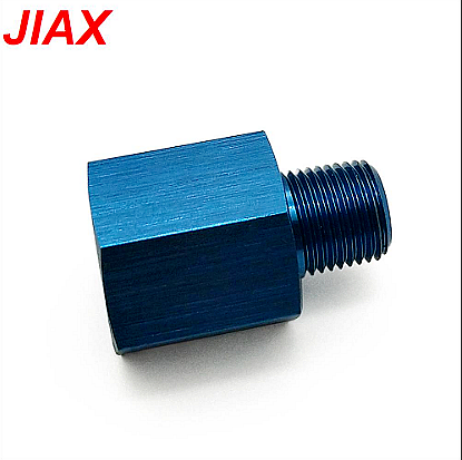Pressure gauge aluminum internal and external thread adapter M12 * 1.5 TO 1/8 NPT internal and external wire core filling