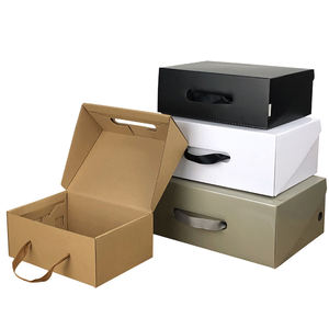 Custom Carton Packaging Shoe Box, Paper Printing Packing Folding Jewelry Box
