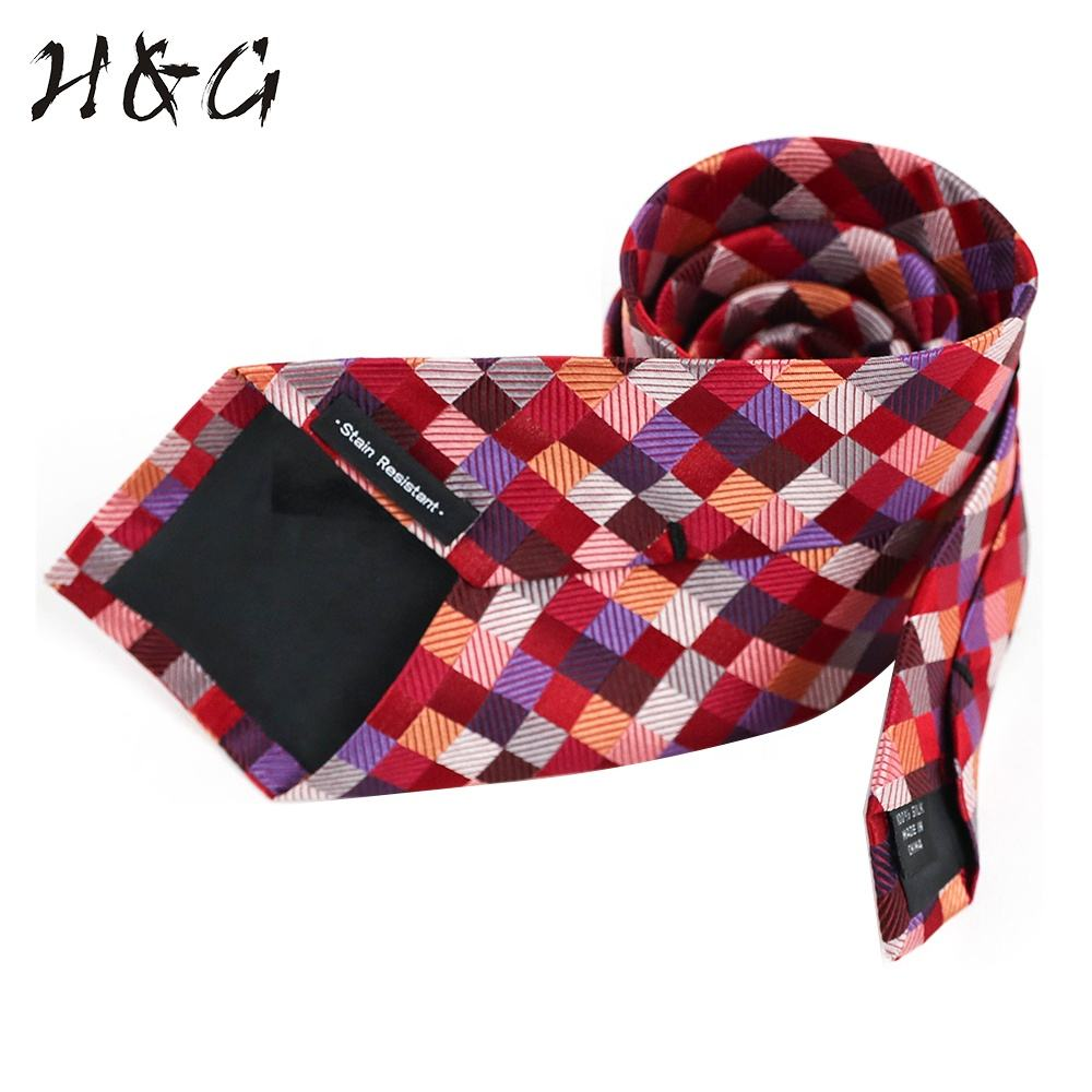 Hot Sale China Professional Red Ladies Design your Own Necktie Manufacture