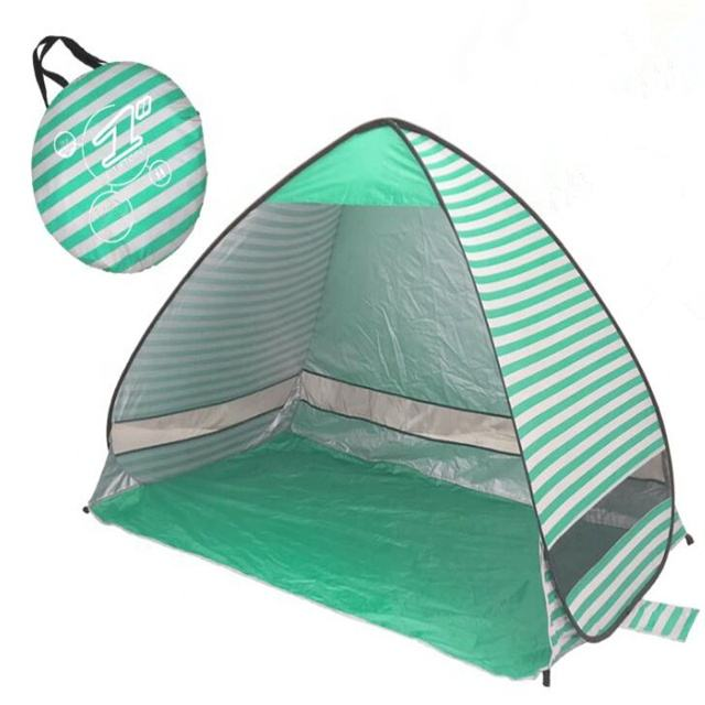 Realsin Factory Price Beach Shelter Tent Portable Easy Up Beach canopy tent