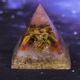 Elite Orgone Pyramid Tiger Eye Crystal For Orgone Energy Generator Chakra Healing/Emf Protection And Meditation Yoga- Made For U
