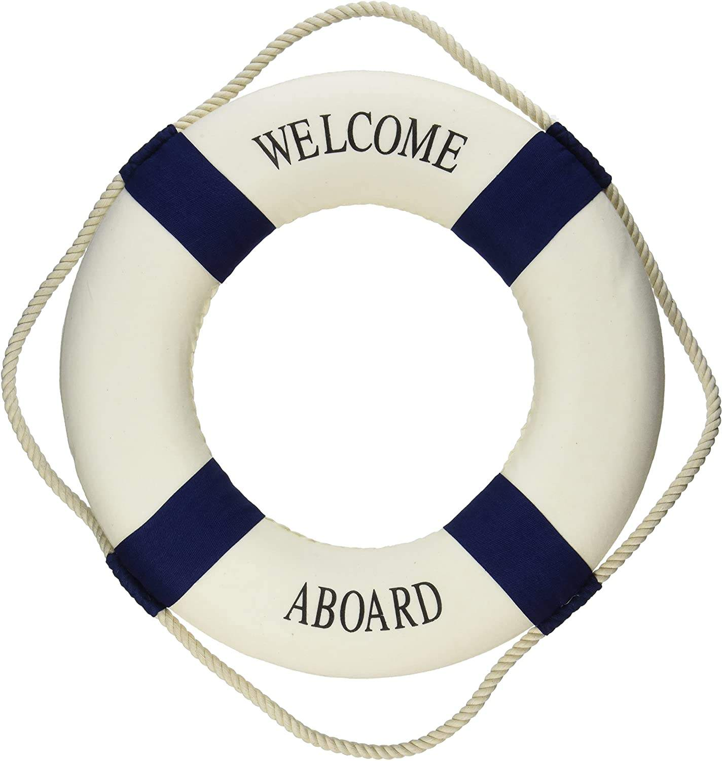 Nautical Life Ring Boat Wall Hanging Mediterranean Style Home Decoration
