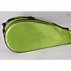 Custom dust-proof Racket Carrying Bag with Accessory Compartment and Adjustable Shoulder Strap for tennis, badminton