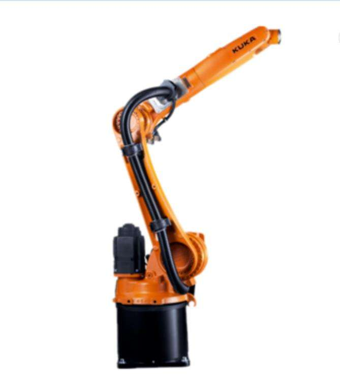 Industrial robotic arm KUKA KR6 R1820 with controller for automatic application