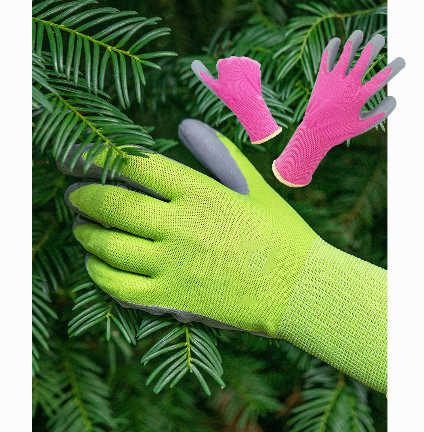 custom logo rubber latex dipped gloves safety latex nitrile blue nitrile gloves work safe ladies for fishing planting repairing