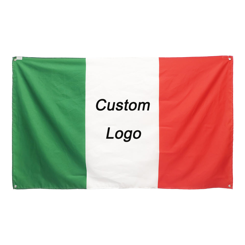 Flag Manufacturer Fast Delivery Silk Screen Printed Large Swooper 100%Polyester Custom 3x5FT All Countries Flags