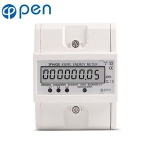 New Intelligent LCD Screen Display Power Meter Socket Energy Electricity Monitor
