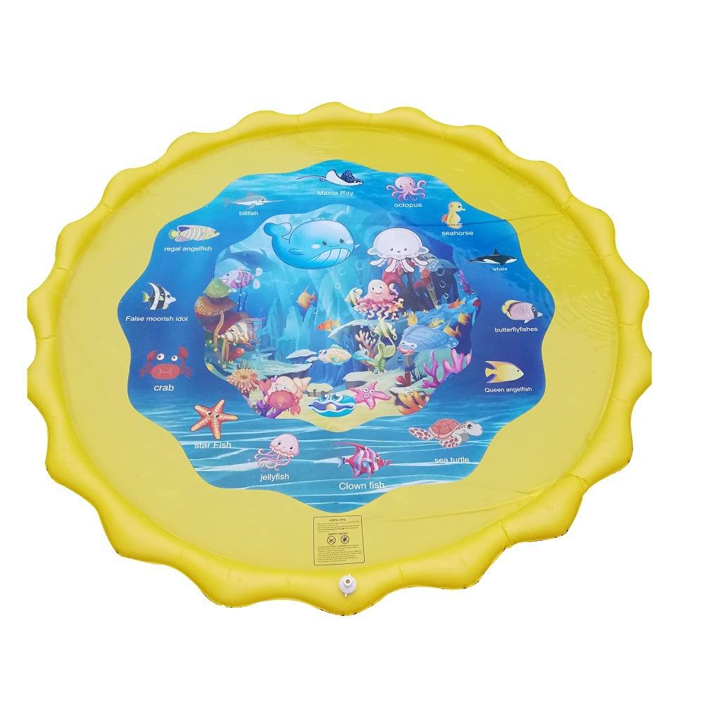 Dropshipping Summer Children's Baby Play Water Mat Games Beach Pad Lawn Inflatable Spray Water Cushion Toys Swimming Pool