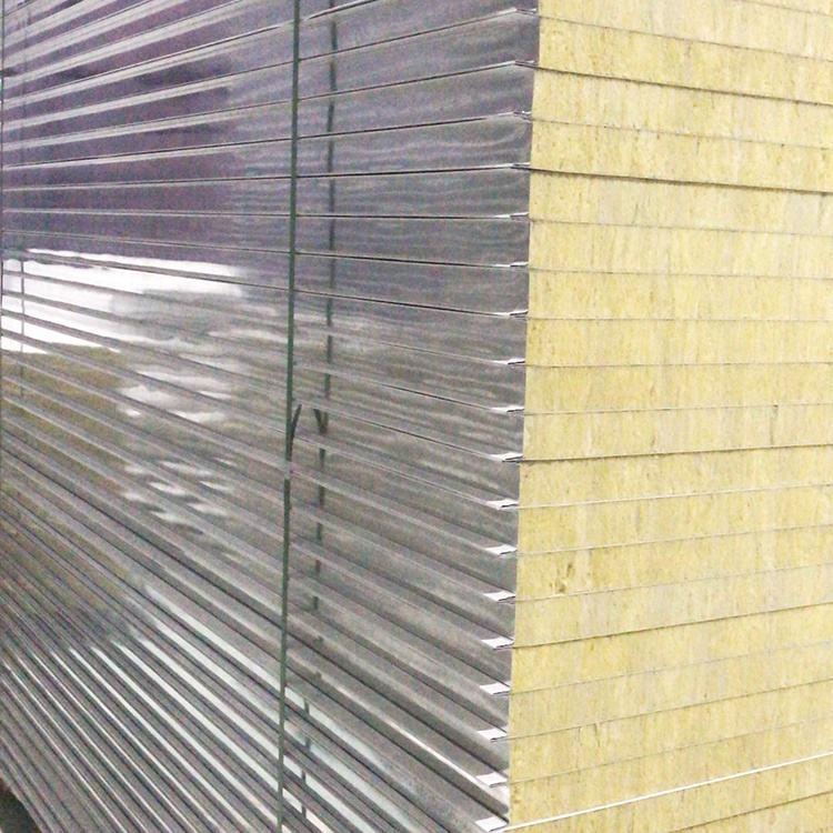 Prepainted rockwool cách điện Board cho caravan tường