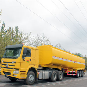 Fuel Truck 3 Axles 40 Cubic Fuel Tank Truck For Sale