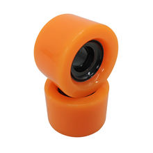 High quality 60mm*40mm PU skate roller for quad skates smooth skateboard wheesl