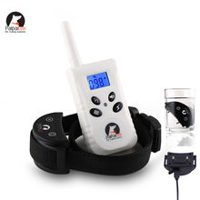 Dog training collar with remote electric shock prong bark collar device