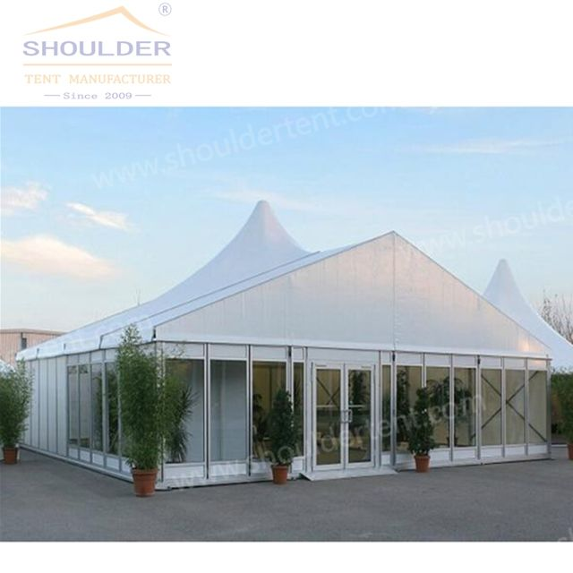 Factory Price Aluminum Tent Carpas Para Eventos Pagoda Church Tents For Donation