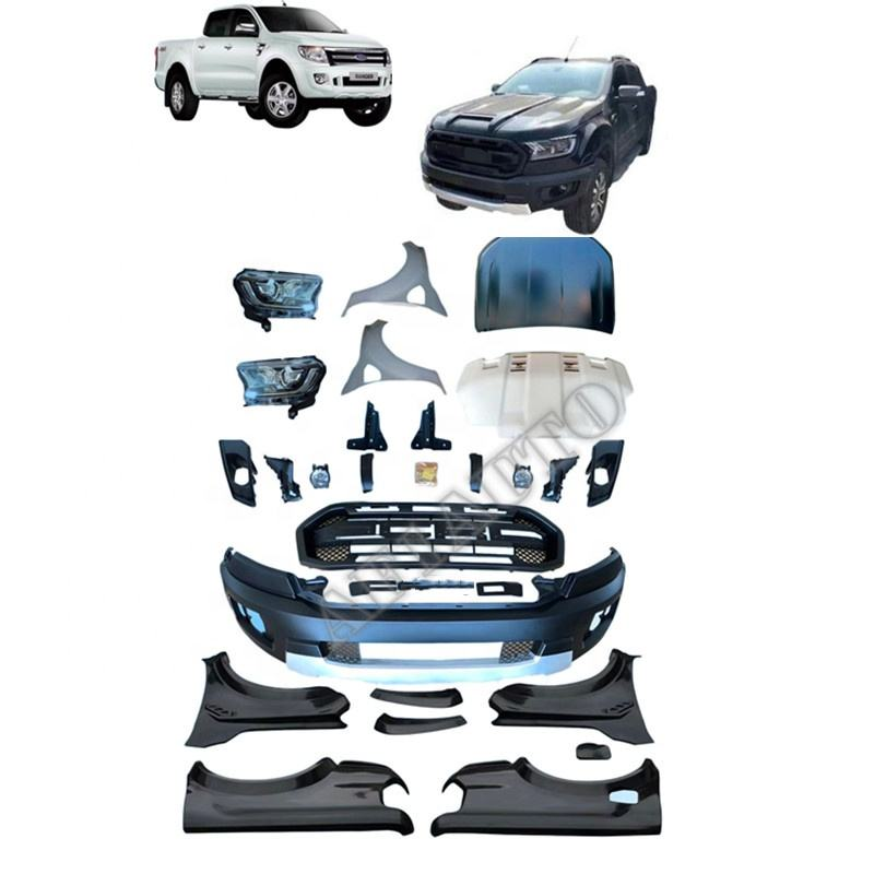 Front Upgrade Body kit For Ranger T6 2012 to Ranger Raptor Model