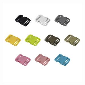MeeTee BD327 50mm High-quality Multicolor Plastic Adjustable Side Release Buckle for Backpack