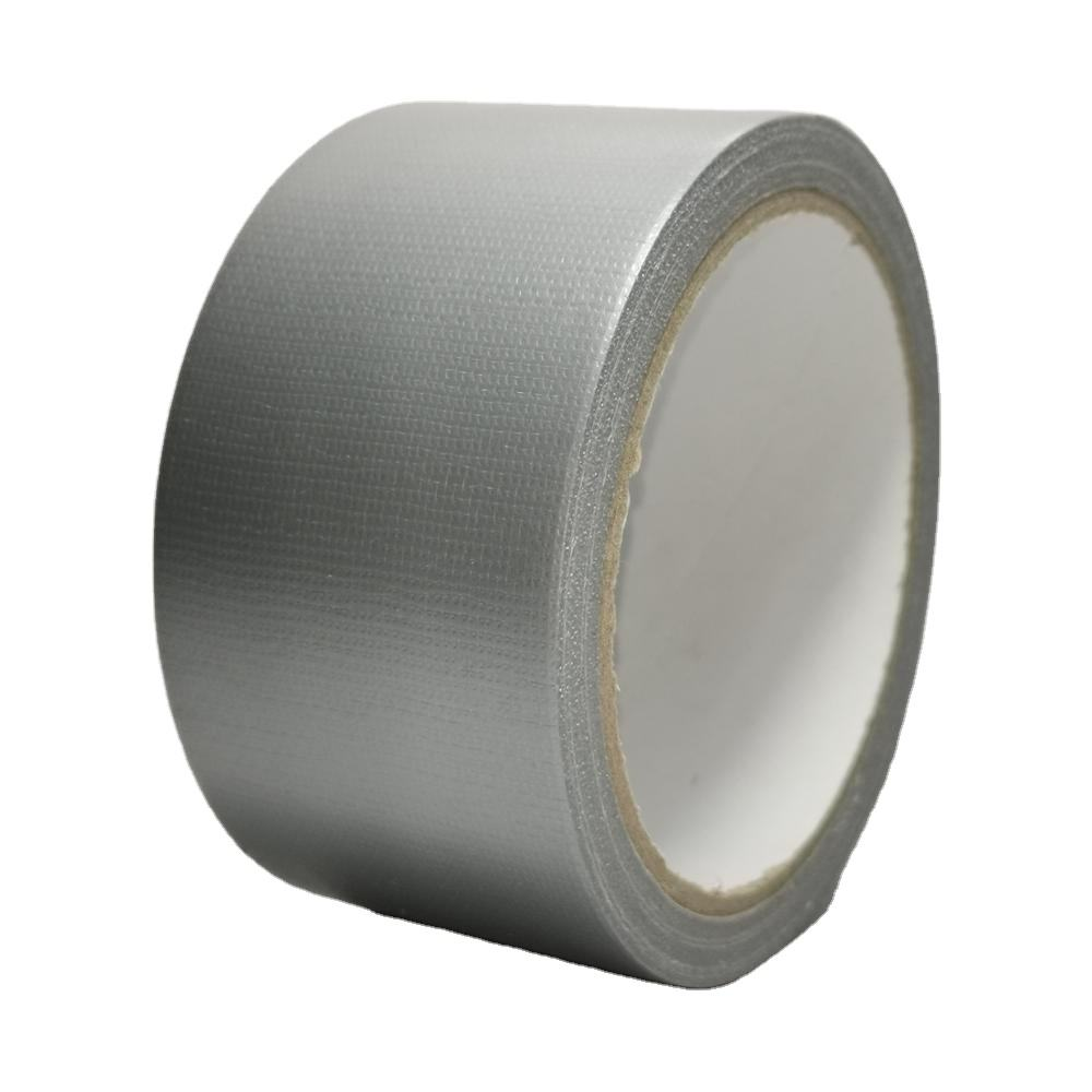 Heavy duty strong rubber adhesive carpet reinforced cheap waterproof customize cloth pvc duct tape