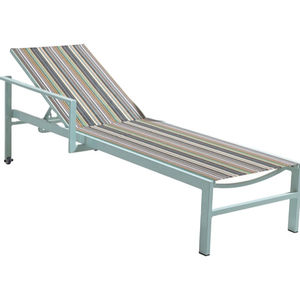 High quality with good price aluminium sun lounger hand made outdoor sun lounger swimming pool lounge aluminum lounge bed
