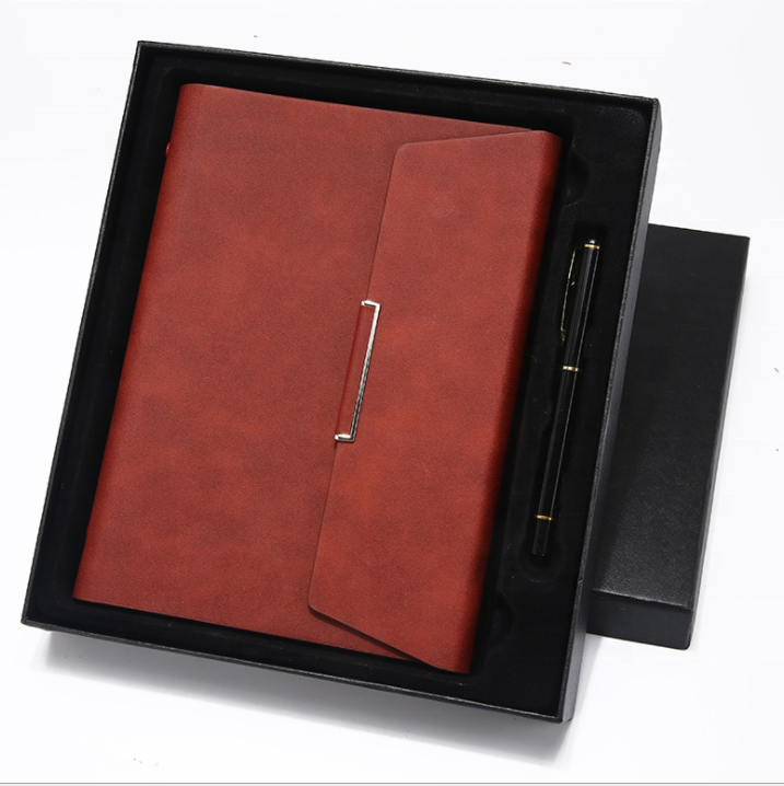 custom gift set journal planner notebook with pen for business promotion