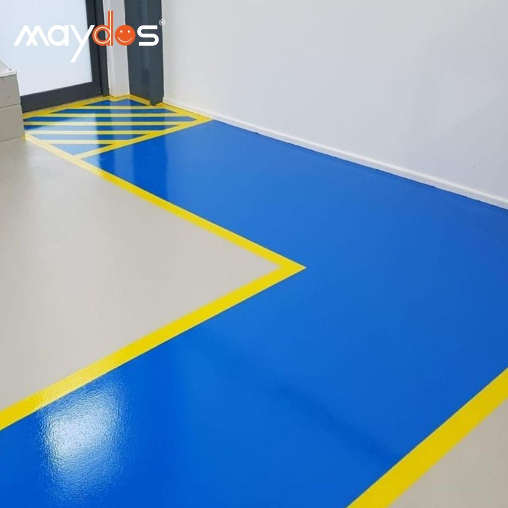 Maydos Diamond Hard Scratching Resistance Epoxy Resin Concrete Car Parking Floor Coatings