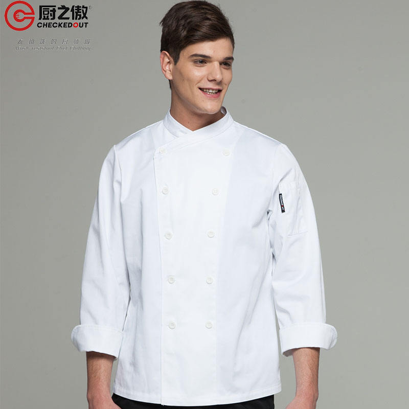 CHECKEDOUT western hotel supply uniforms cook jacket chef coat