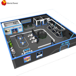 Indoor Game Zone Arcade Games 10-500M2 VR Space Park 4D5D9D AR VR Industry Customized VR Theme Park Design For Amusement