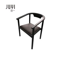 Juyi dining chair modern home Nordic restaurant solid wood chair backrest stool leisure creativity