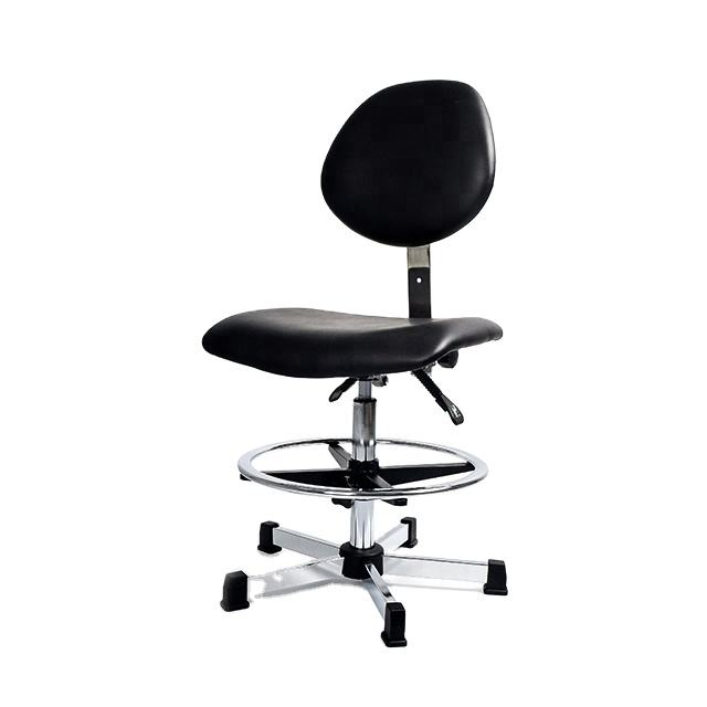 Modern ESD PU Leather Ergonomic Industrial Chair