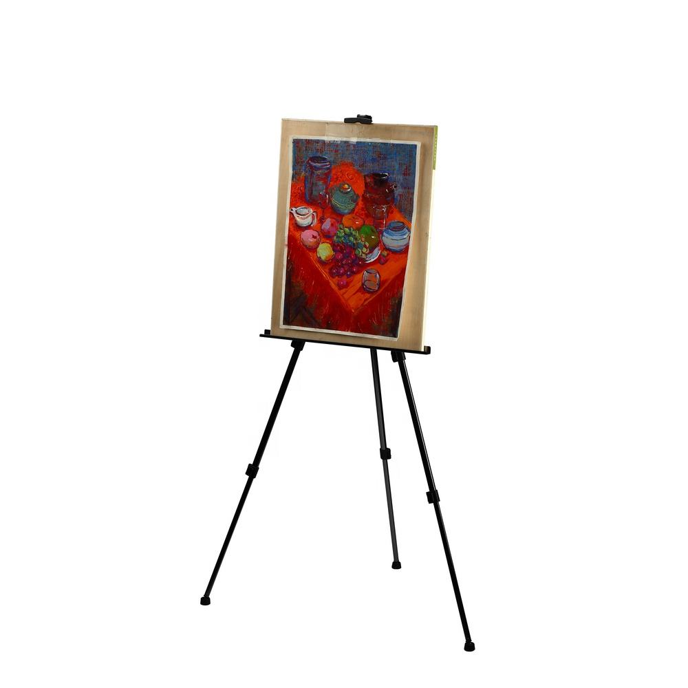 Wholesale Adjustable Small Painting Aluminum Table Top Metal Artist Studio Tripod Stand Art easel