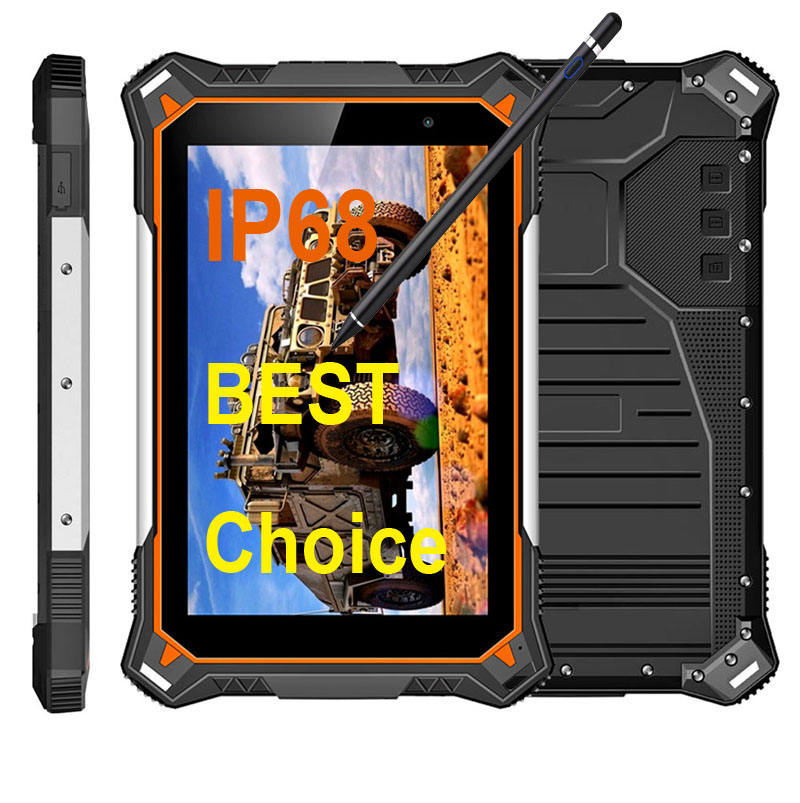 Cheapest Factory rugged Tablets 8inch 1920*1200 IP68 -30C Octa-core 4G LTE 4G+64G computer tablet pc waterproof tablet