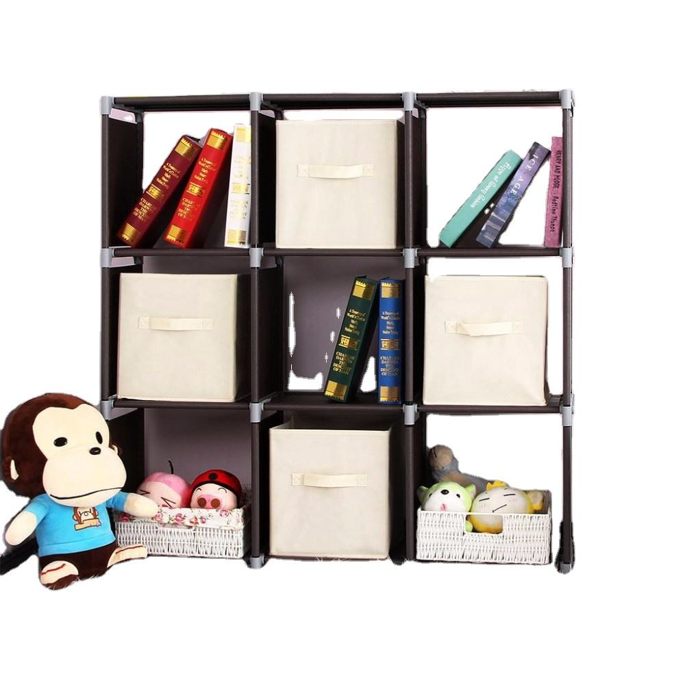 High Quality Non Woven Fabric Clothing Organizer Foldable Storage Box Bins With Handle