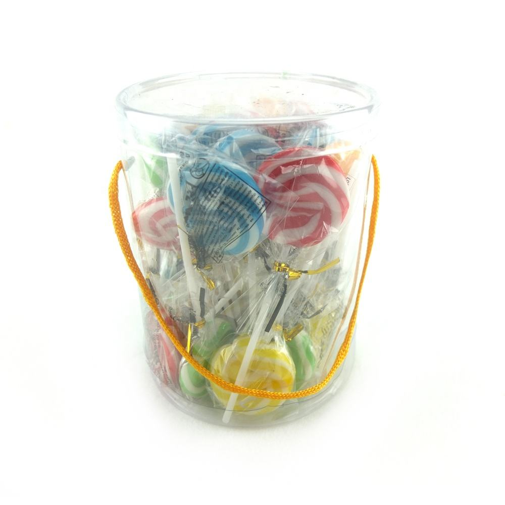 lovely colorful ripple lollipop candy sweets popular hard candy