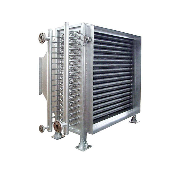 Less investment 100kw stainless steel finned tube heat exchanger for trailers