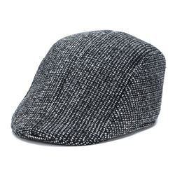 Hat man Autumn-Winter Beret hat man British retro forward-knit hat duck tongue Wholesale 2020