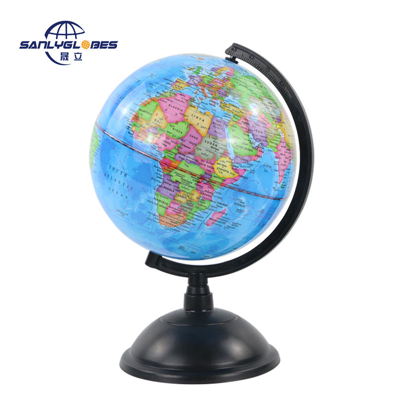 wholesale 20cm Political District Plastic Ruler Globe globe map of the world