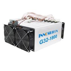 most profitable fatest asic miner G32-1800 with Cuckatoo31+ algorithm and hashrate 328GPS