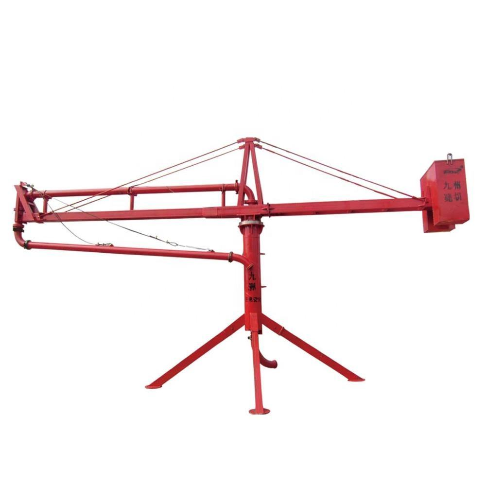 Jiuzhou Chinese Supplier 360 degree concrete placing boom placer for Putzmeister pump truck