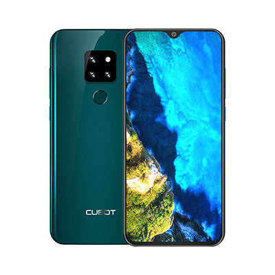 "Cubot P30 Android 9.0 4GB+64GB Octa Core Smartphone 6.3"" FHD+ Waterdrop Screen 20MP+12MP+8MP Triple Camera 4000mAh Face ID Phone"