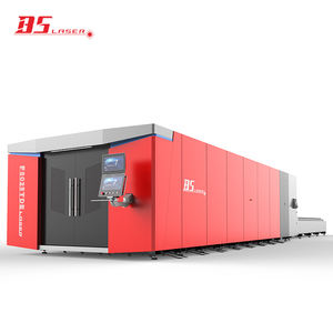 High efficiency high power flat bed laser cutting machine 10 kw 10000 watts with exchange table