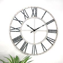 IVY Custom 2019 Oversize 3D Decor Display Digital Decorative Metal Wall Clock for Living room