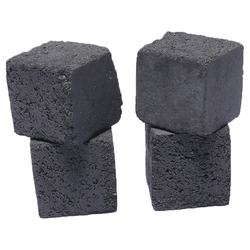 25mm Long burn smokeless cocoanut shell briquettes shisha charcoal cube